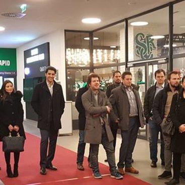 Ein Besuch des Forums Jungunternehmer im ÖGV bei SK Rapid Wien