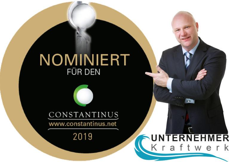 """Unser Mitglied Unternehmerkraftwerk gewinnt """"Oskar der Beraterbranche"""""""