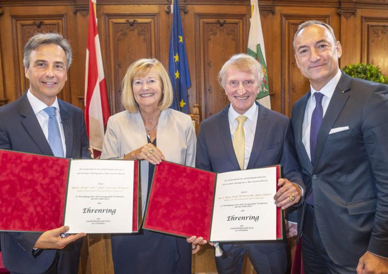 Wir gratulieren Hans Sünkel zum Ehrenring der Stadt Graz