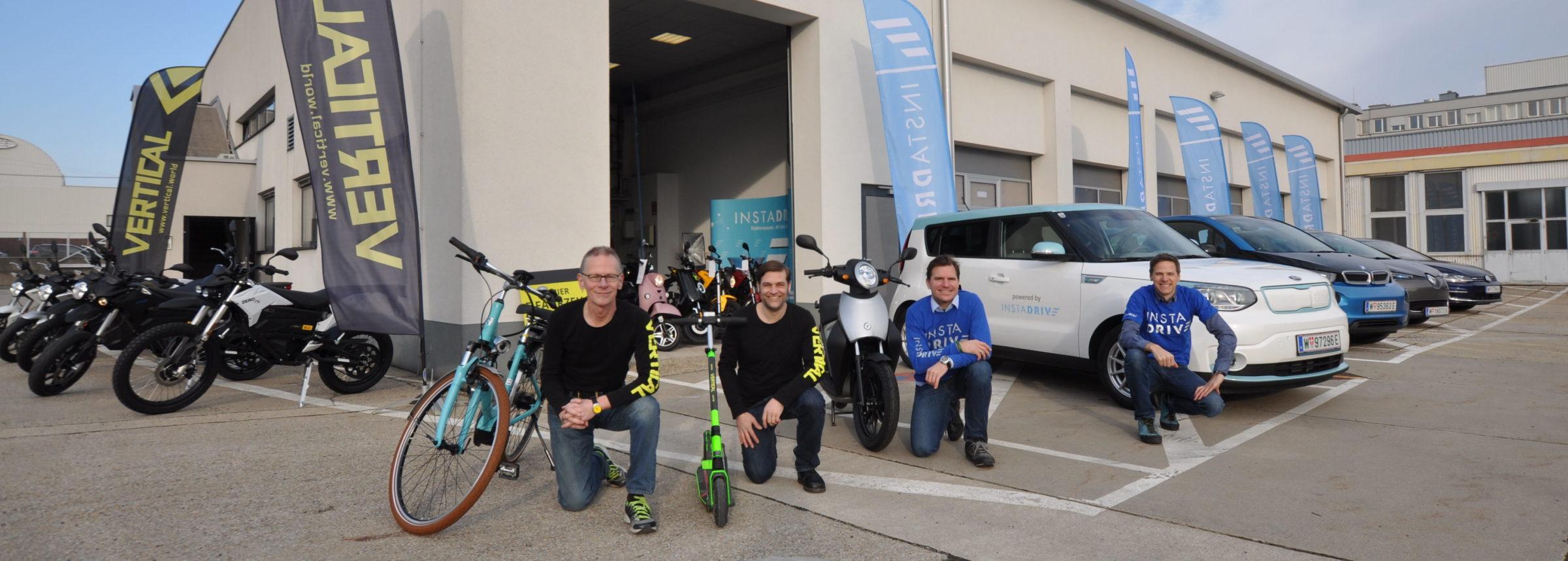 ÖGV Neuigkeiten Jungunternehmer: 3in1:E-Mobilität im Vormarsch