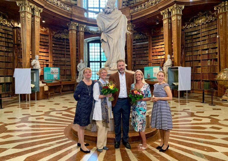 Buchpatenschaft in der Nationalbibliothek am 13. September: eine Rückblende