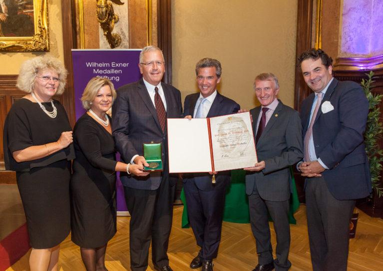 Wilhelm Exner Medaillen Verleihung 2019