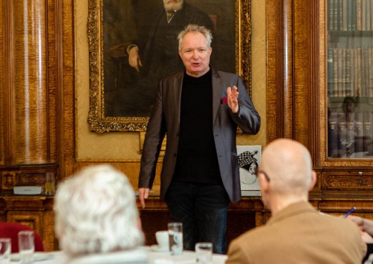 Rückblick: early bird mit Richard Blöss / Public Speaking ist ein Handwerk