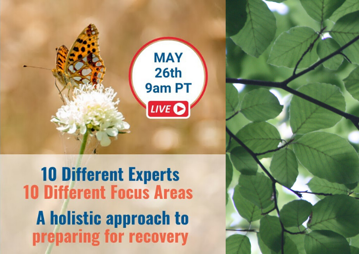 Getting Ready For Recovery – A Live, Global Event