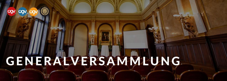 ÖGV Nachrichten: Generalversammlung