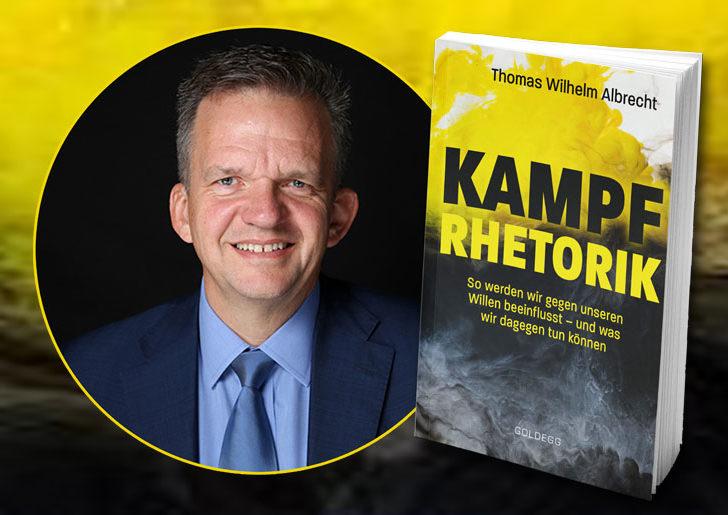 Buchpräsentation – Kampfrhetorik von Thomas W. Albrecht