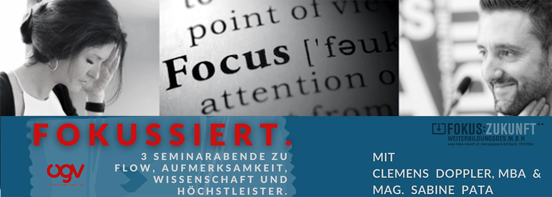 ÖGV Veranstaltungen: Live Online Seminar / Fokussieren